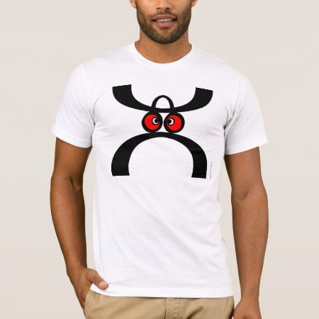 Funny Moustache Hat Face T-Shirt - click to get yours right now!
