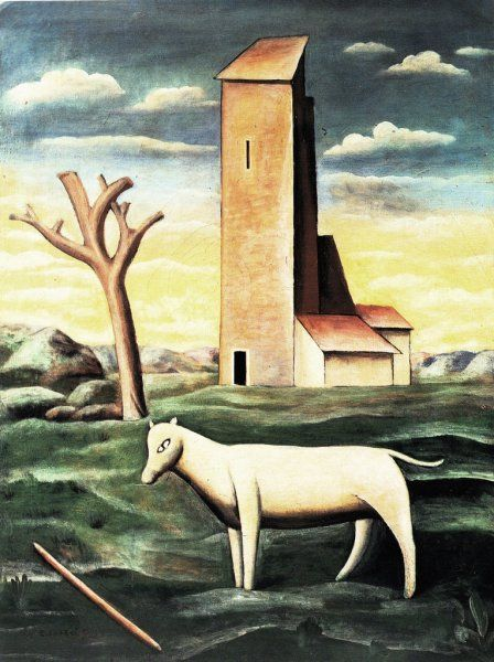 Carlo Carrà Il mulino di S.Anna 1921