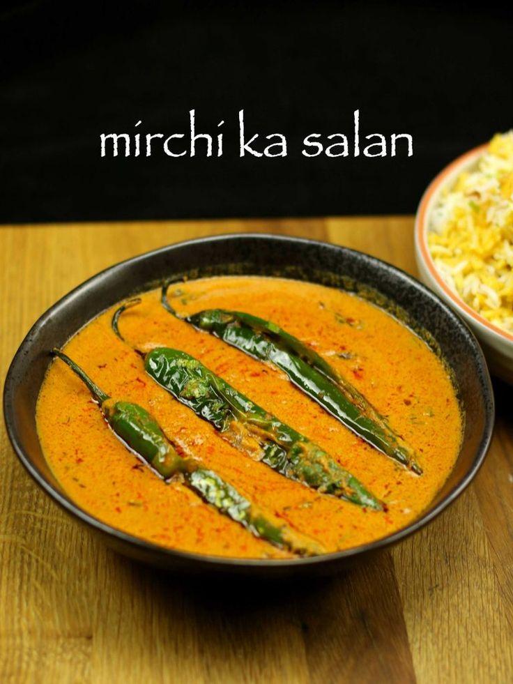 Traditional Hyderabadi mirchi ka salan recipe