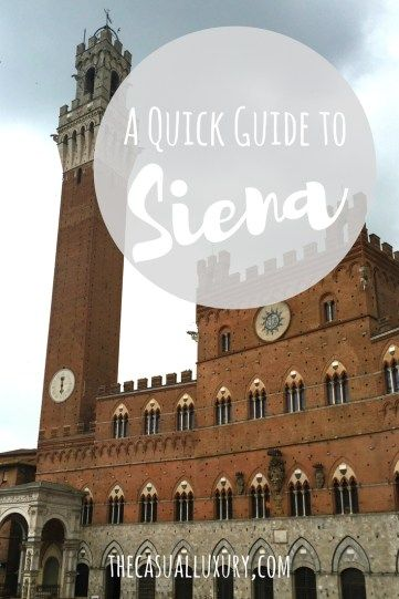 What to Do in Siena // Tuscany Guide // Italy Guide // Where to Eat in Siena // Italy Adventures