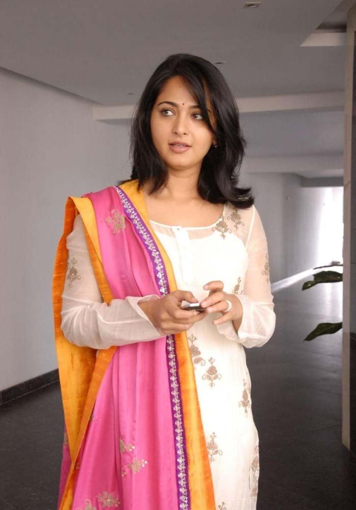 Anushka in Damarukam Success Meet | Veethi