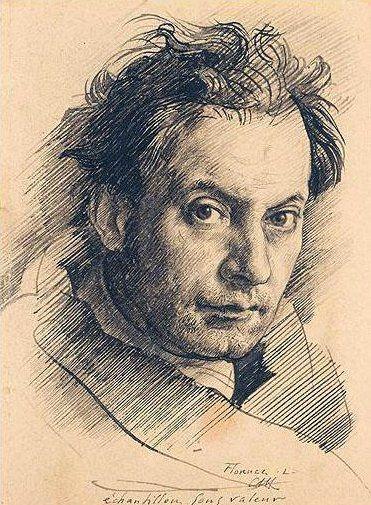 Annigoni, Pietro (1910-1988) - Self-Portrait.