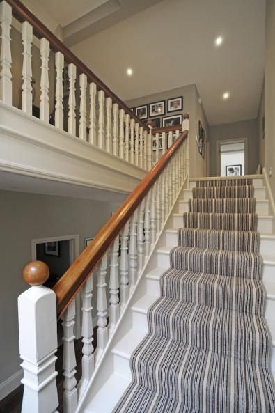 STAIRS Edwardian House refurbishment in Oxford  Riach Architects Award Winning Best 25 house ideas on Pinterest hallway