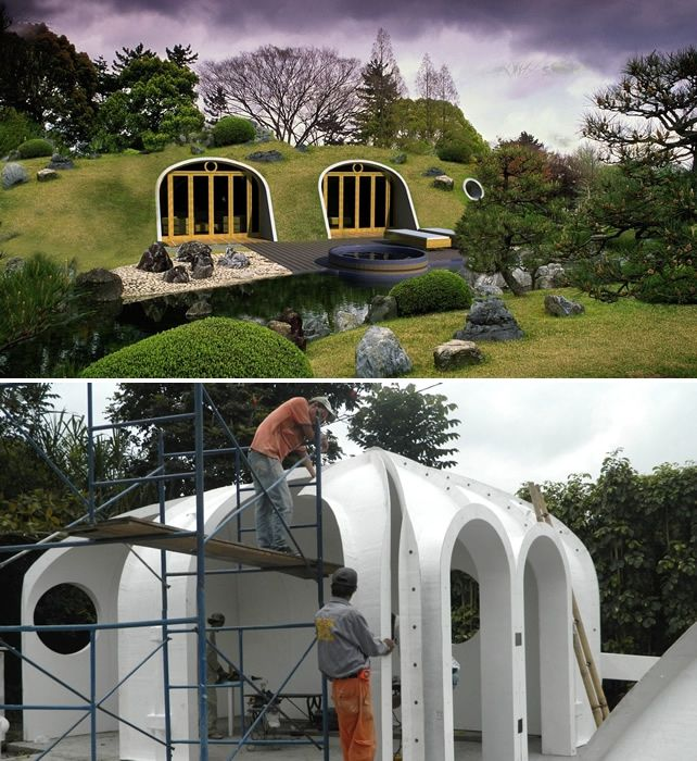 from hobbiton to tatooine earth sheltered homes make sense all over the universe - Underground Home Ideas