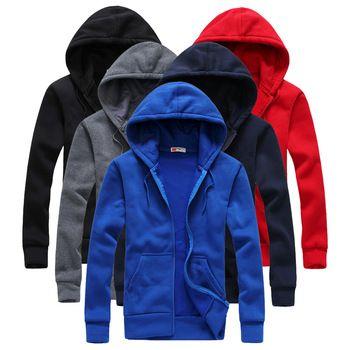 2016 Горячие продажа Мужская Толстовки и Кофты осень зима любители случайный с капюшоном куртки мужчины пальто с капюшоном мужчины размер S-XXL