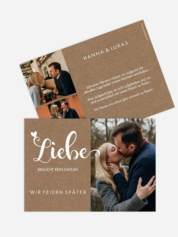 Change The Date Karte Wild Love Karte Hochzeit Hochzeit Antwortkarten Einladungen Hochzeit