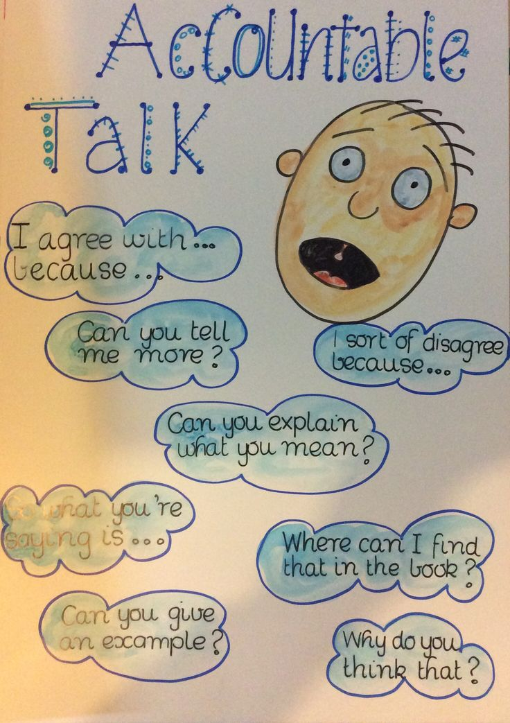 ~Accountable talk poster... When talking to Shoulder/Face/Number Buddies ( Kagan Groupings)-charts on their desks I have that are WONDERFUL!*