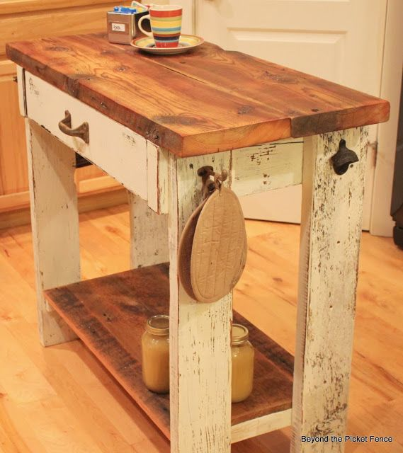 Kitchen Island Out Of Pallets: Best 25+ Pallet Kitchen Island Ideas On Pinterest
