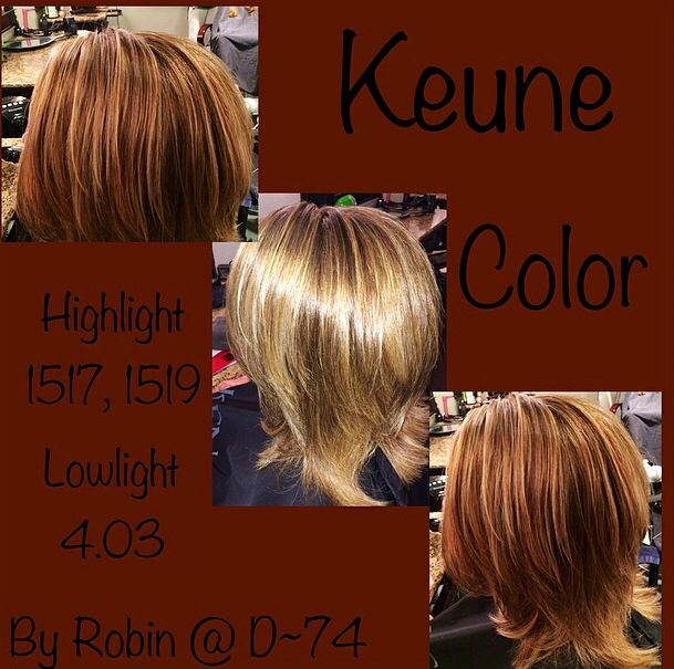 Keune Color Highlight 1517 1519 Lowlight 4 03 Keune