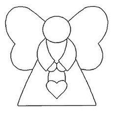 A Gaivota Artesanato: Riscos Bonecas, anjos, meninas- Patchwork embutido - Pintura em tecido