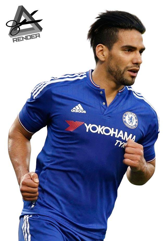 Radamel Falcao Garcia Render 2015-2016 Chelsea by RAAT96