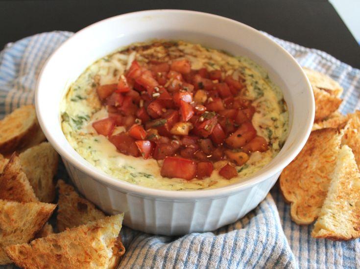Spinach Bruschetta Dip « Cookbook Hub
