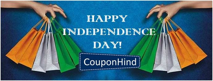 In the Celebration of 69th Independence Day, Couponhind provide all #IndependenceDay coupons & offers.