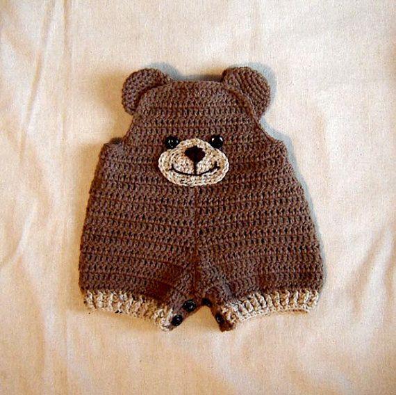 Baby teddy bear shorts