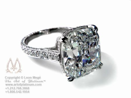 this is close to what i want :) Diamond engagement ring solitaire by Leon Mege