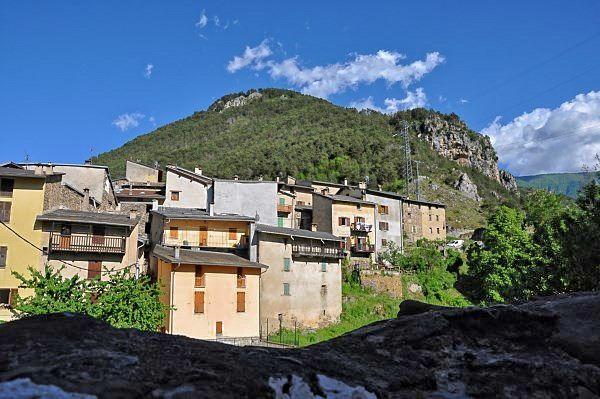 la Brigue village France