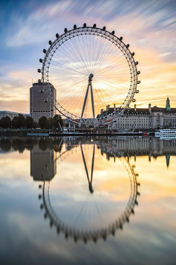 London Eye, Londres, Inglaterra.