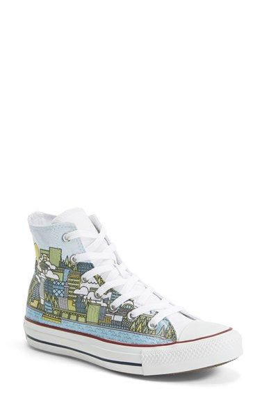Converse Chuck Taylor® All Star® 'Made By You - Seattle' High Top Sneaker ( Women)