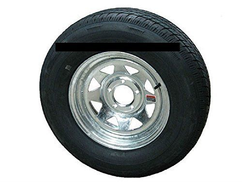 "ST205/75R14 LRC 6 PR Rainier ST Radial Trailer Tire on 14"" 5 Lug Galvanized Spoke Trailer Wheel  https://www.safetygearhq.com/product/tyre-shop-tire-warehouse/st20575r14-lrc-6-pr-rainier-st-radial-trailer-tire-on-14-5-lug-galvanized-spoke-trailer-wheel/"