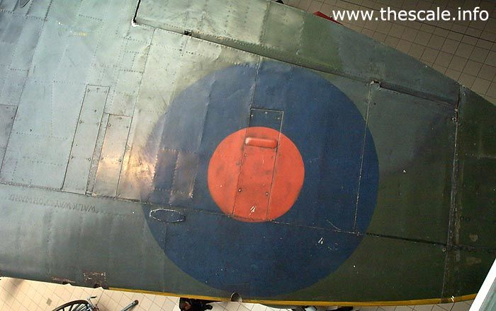 Spitfire wing