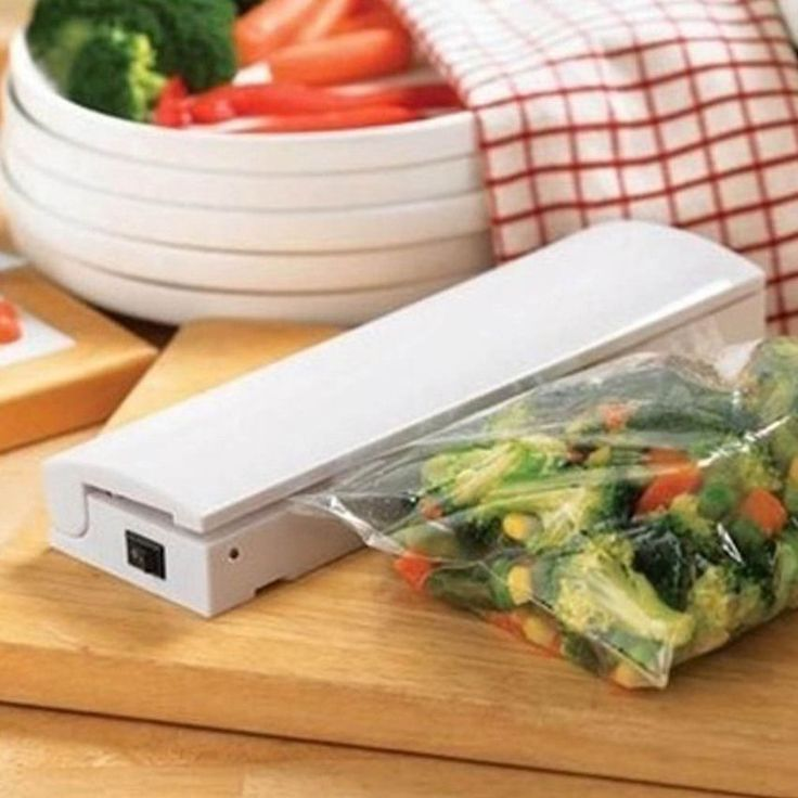 Home Portable Seal Vacuum Food Bag Sealer Packaging Machine Kitchen Tools IP