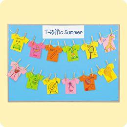 T-Riffic Summer T-Shirts at Lakeshore: Encourage kids to share their summer adventures with this colorful project!: Bentonnaz Kidz, Summer Schools, Church Bulletin, Schools Ideas, Christian Graphics, Bing Image, School Ideas, Bridgekid Ideas, Boards Ideas