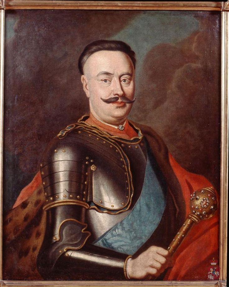 Portret Jana Klemensa Branickiego (1689-1771)