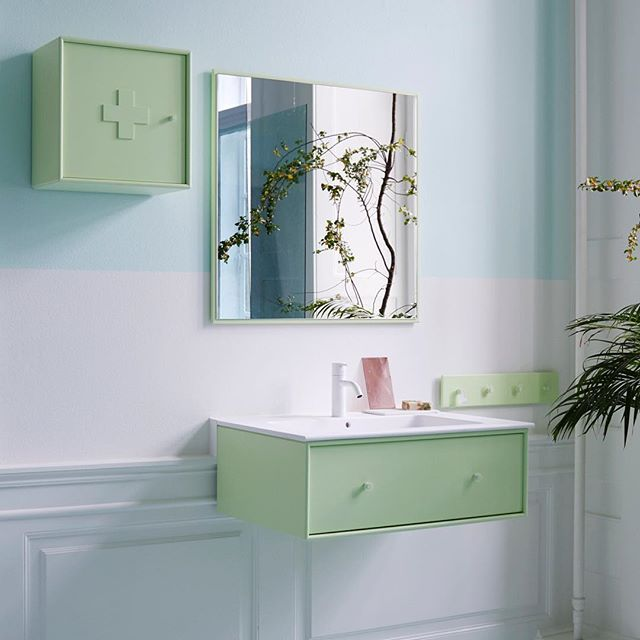 The bathroom – the frame around your me-time. Make it special.  #montanafurniture #danishdesign #bathroom #montanabathroom #wohnideen #wohninspiration #badezimmer #salledebain #badrom #medicinecabinet #mirror #colourlovers #badeværelse #badevære
