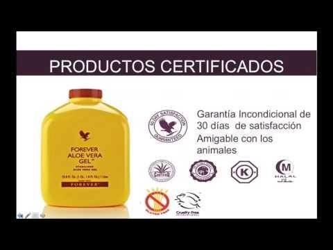 Forever Aloe vera Gel  por el Doctor Juan Canelón