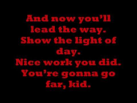 The Offspring - You're Gonna Go Far, Kid (Lyrics) Love this song so much!!