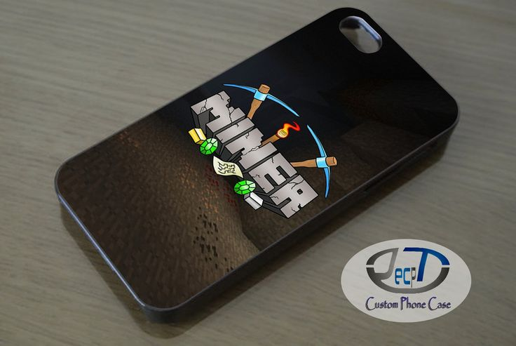 Minecraft Miner Shirt Case iPhone, iPad, Samsung Galaxy, HTC Cases