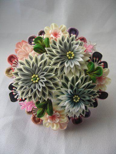 Букетик из разных цв
