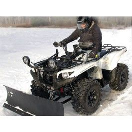DIX-C Complete ATV Snow Plow System