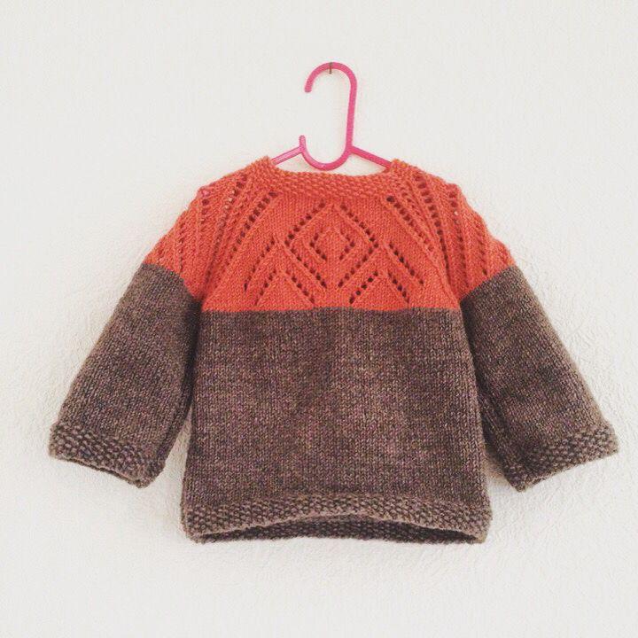 #knitting #knit #kids #sweater #handmade