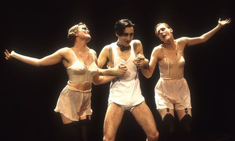 bing images of off broadway costumes | Alan Cumming in Cabaret during the production's original run at the ...