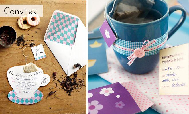 Dica de chá de bebê: chá da tarde   Emma Fiorezi Moda Gestante Blog