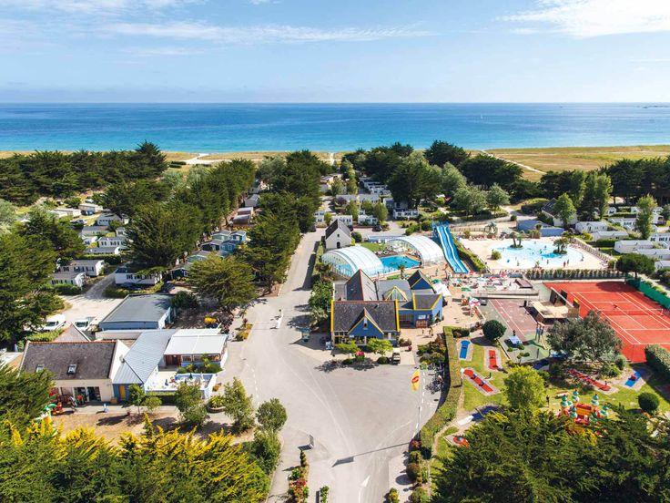 Yelloh! Village La Plage - Passez des vacances en camping dans le Finistère, et choisissez un accès direct à plage ! Plus d'infos : http://www.yellohvillage.fr/camping/la_plage