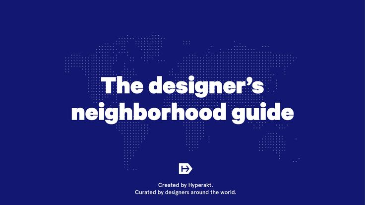 On the Grid | Neighborhood guides by local creatives