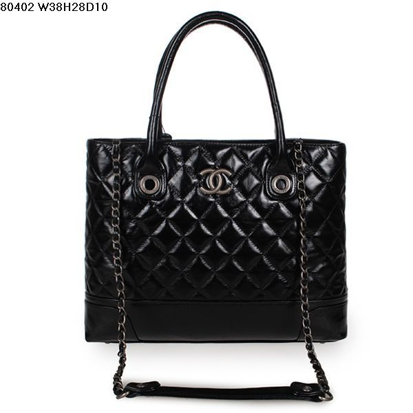 Aaa Replica Chanel Las Quilted Leather Tote Bag 80402 Black 912291115 16470 189 00