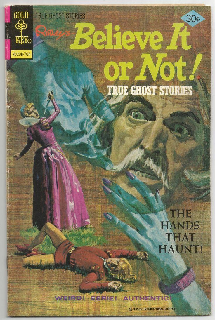 Ripley's Believe it or Not! True Ghost Stories No .69 1977, Antique Alchemy