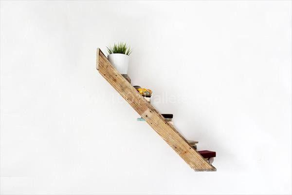 """Pallet Stair"" Shelf"