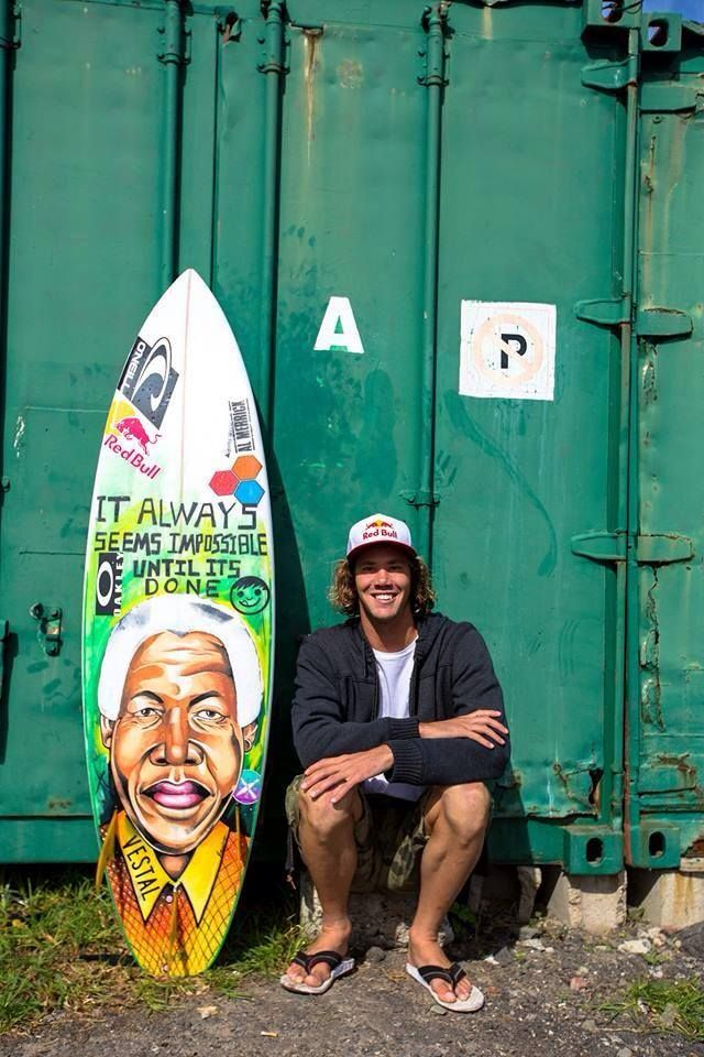 Jordy Smith - World beater pays tribute to global icon.