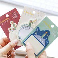 6 unids/lote Le petit prince notas adhesivas memo pad de Dibujos Animados etiqueta de Post-it de papel accesorios de Oficina Papelería material Escolar 6625