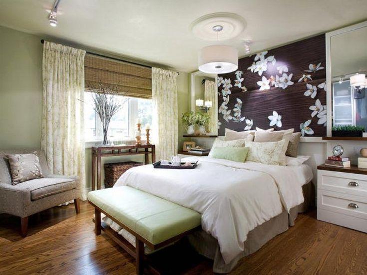 Vintage Black Wrought Iron Lantern Pendant Lights Master Bedroom Ideas On A Budget Dark Brown Bedside Table Striped Ottoman  Brown Rug
