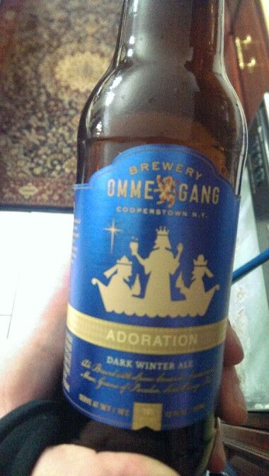 Ommegang Brewery Adoration Dark Winter Ale