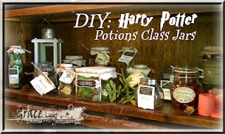 Grace's Scrap Attic: Harry Potter Potions and Ingredients Decorations for a Party - Post #3