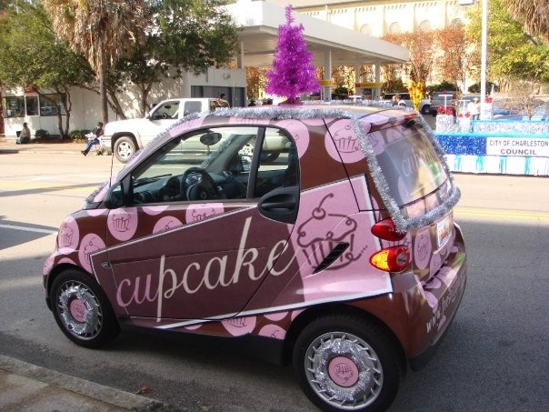 Cupcake Delivery Car....sending my address now.