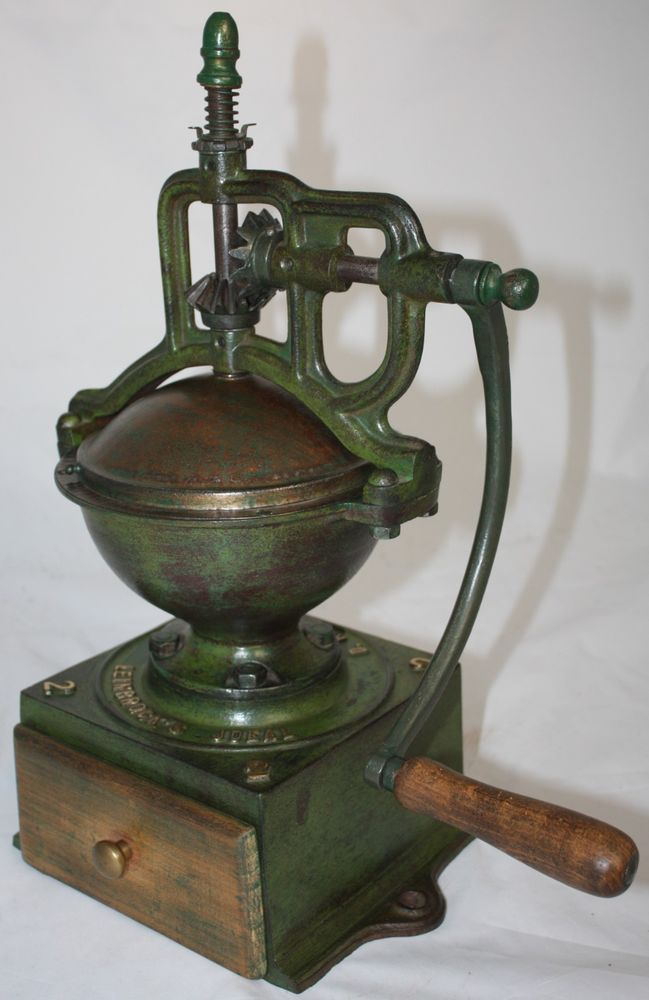 how to clean a castiron coffee grinder