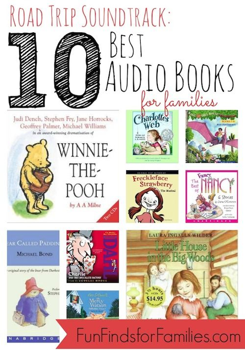 Best Audio Books for Kids   Road Trip Soundtrack - Fun Finds For Families