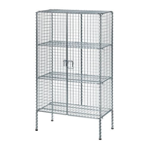 IKEA - IKEA PS 2017, Storage unit, Easy to assemble without tools or screws.Steady also on uneven floors, thanks to the adjustable feet.The shelves are adjustable so you can customise your storage as needed.